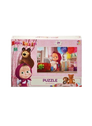 Utku Oyuncak Puzzle Renkli